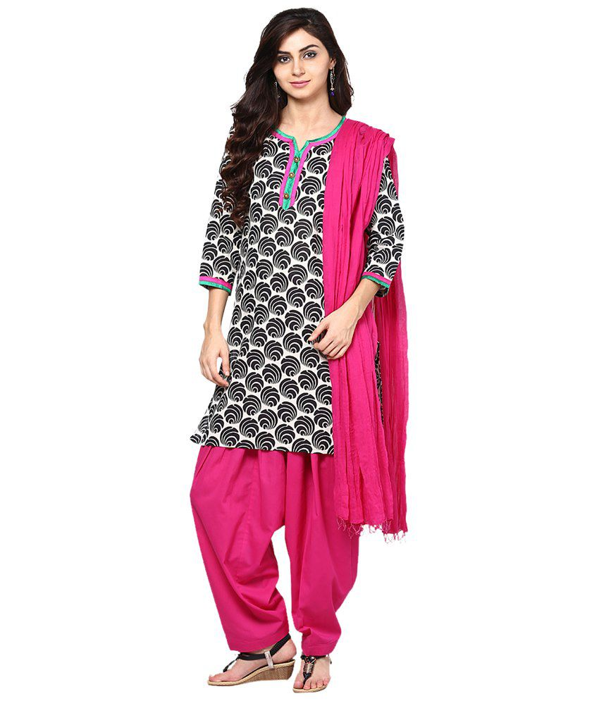 e7f54b85d5 Jaipur Kurti Cotton Kurti With Patiala - Stitched Suit - Buy Jaipur Kurti  Cotton Kurti With Patiala - Stitched Suit Online at Low Price - Snapdeal.com