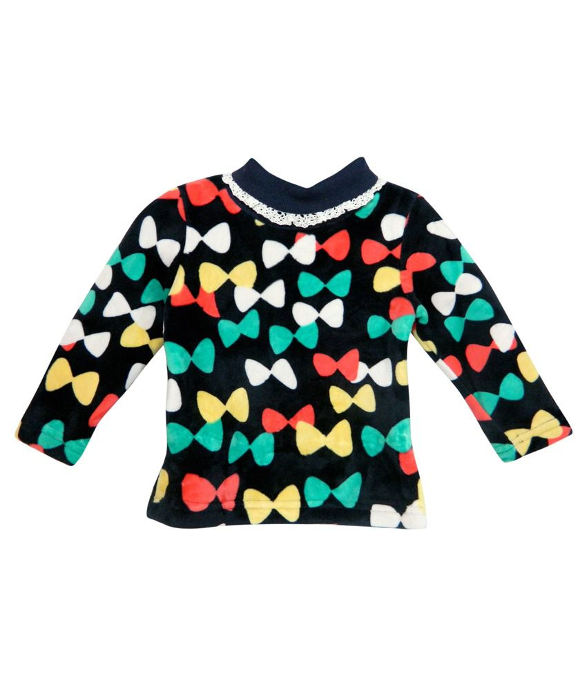 Bella Moda Multicolour Fleece Sweatshirt