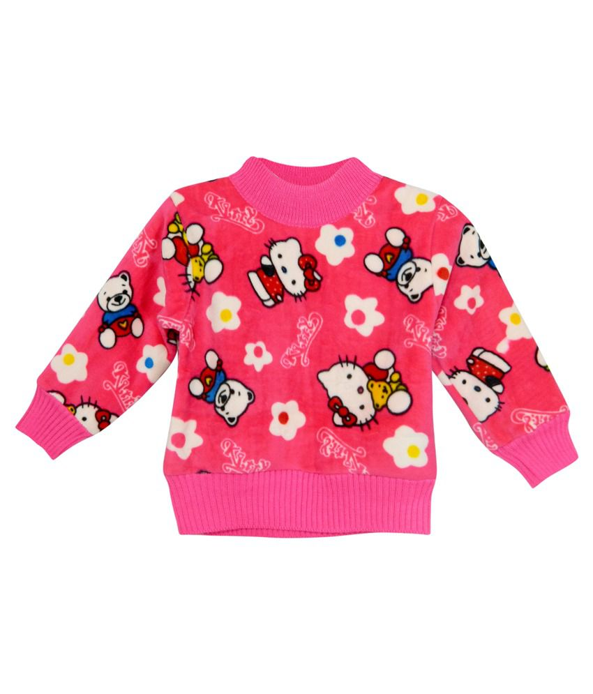 Bella Moda Pink Fleece Sweatshirt