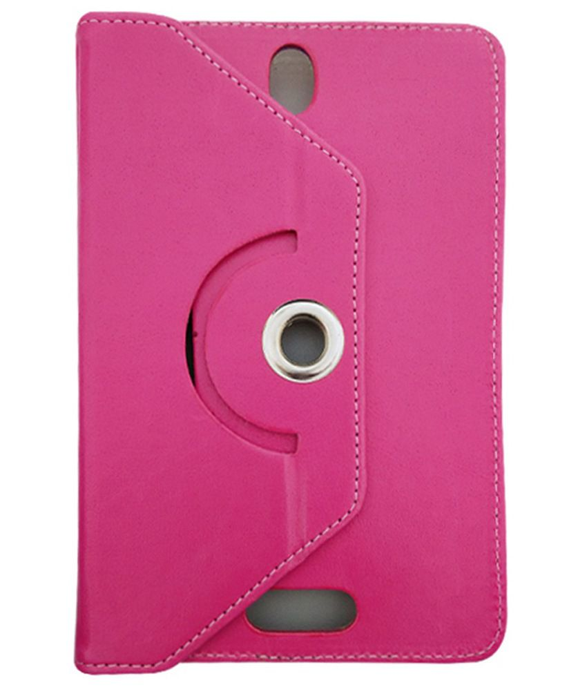 Fastway Flip Cover For Lenovo S-5000 Tablets (16GB WiFi 3G) - Pink