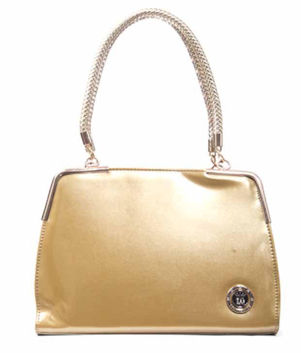 Oakland Fashion Golden Shoulder Bag