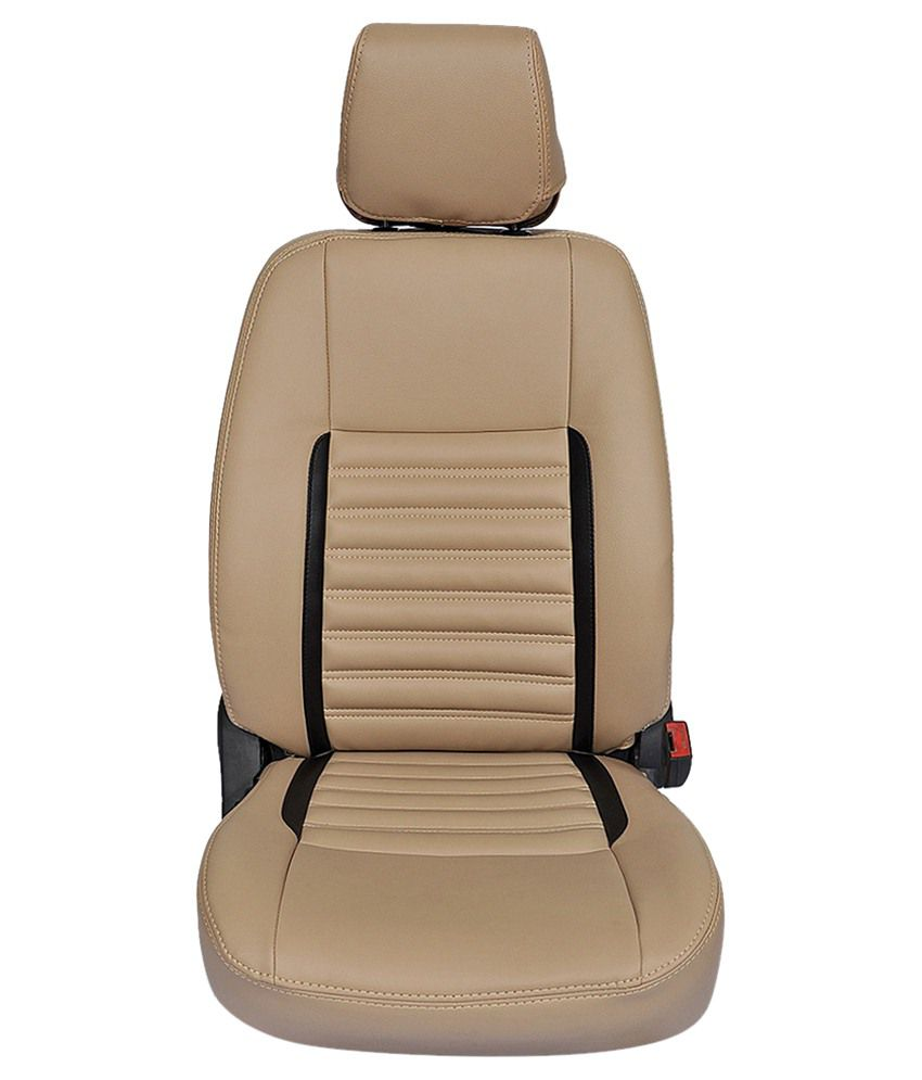Hi Art Car Seat Cover For Hyundai Creta Beige Amp Black Buy
