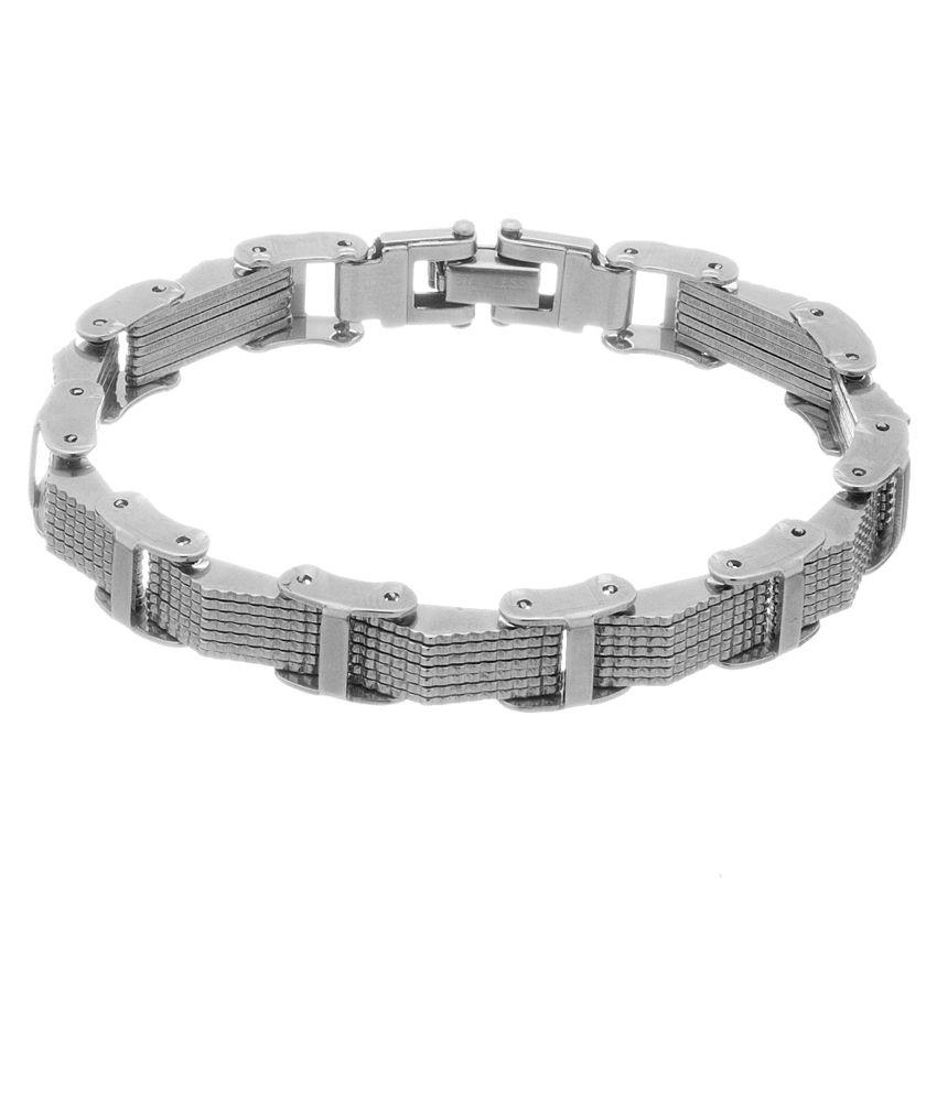 Voylla Silver Alloy Bracelet