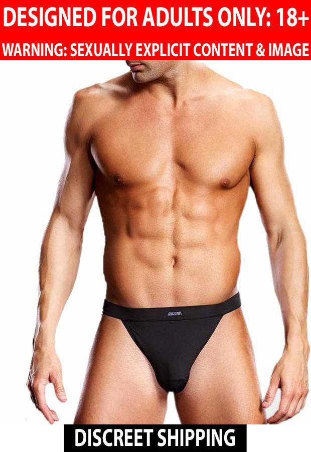 Blueline Blue Line: Men's Innerwear Performance Microfiber Low Profile Jock Strap S/M