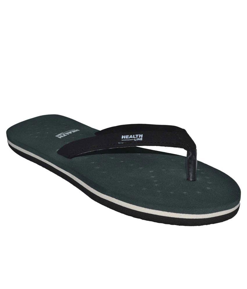 Health Line Green Flip Flops