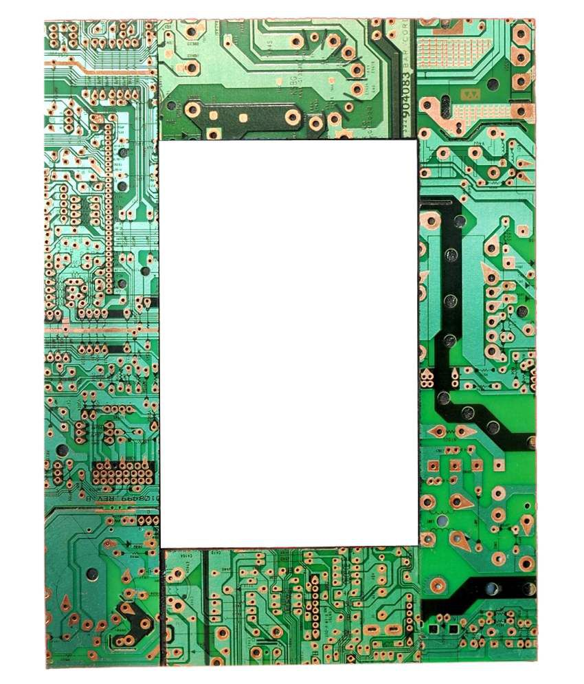 Aahum Wood Photo Frame Made Of Electric Circuit Board Buy Where To Boards