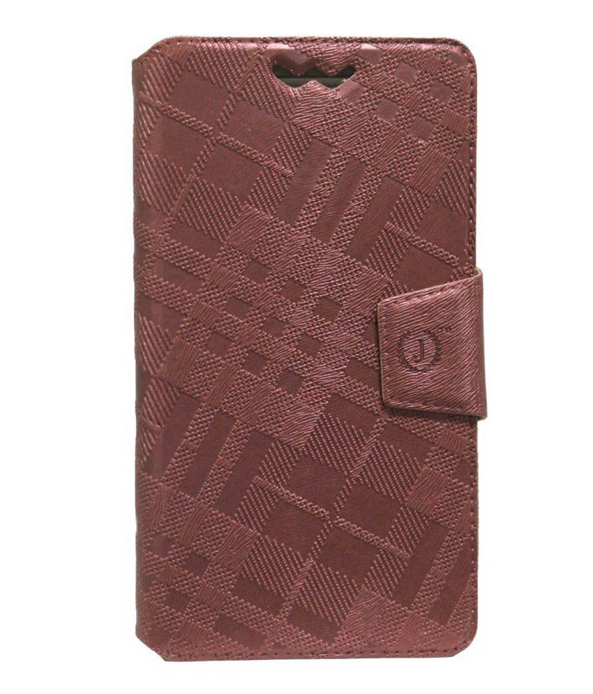 Jo Jo Flip Cover For Allview P5 Quad - Brown