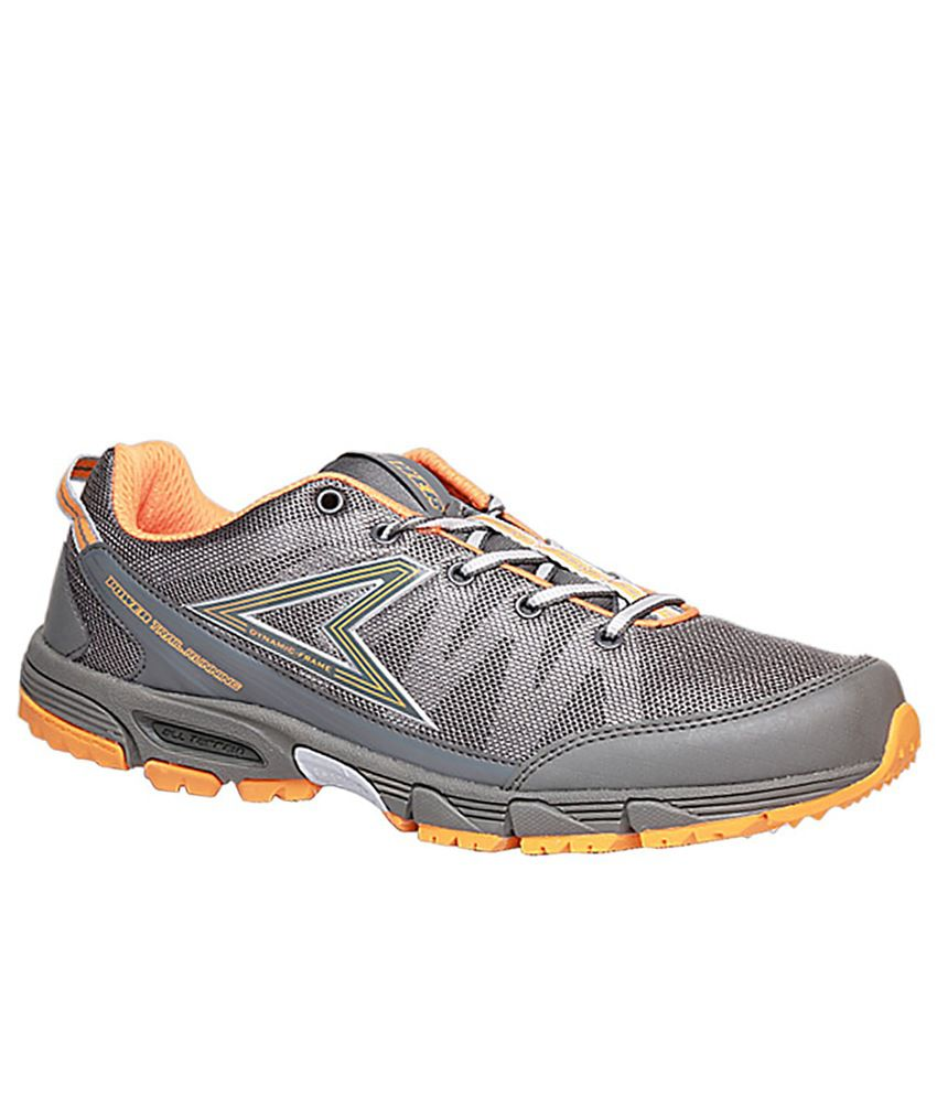 Power Gray Sports Shoes