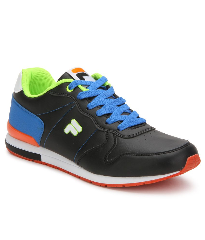 5ded508ecef4 Fila 8907302026627 Rinaldo Black Casual Shoes - Best Price in India ...