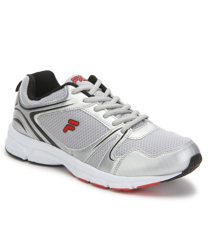 Fila Spinello Silver Sports Shoes
