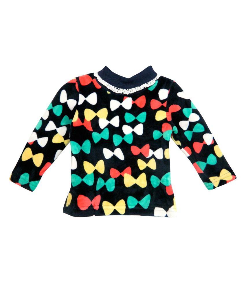 Bella Moda Multicolour Fleece Sweatshirt - Pack Of 2