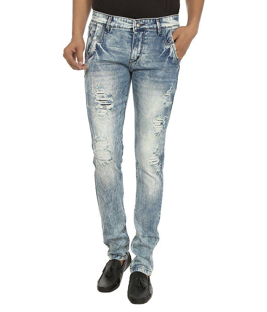 Stag By Fasnoya Green Skinny Fit Jeans