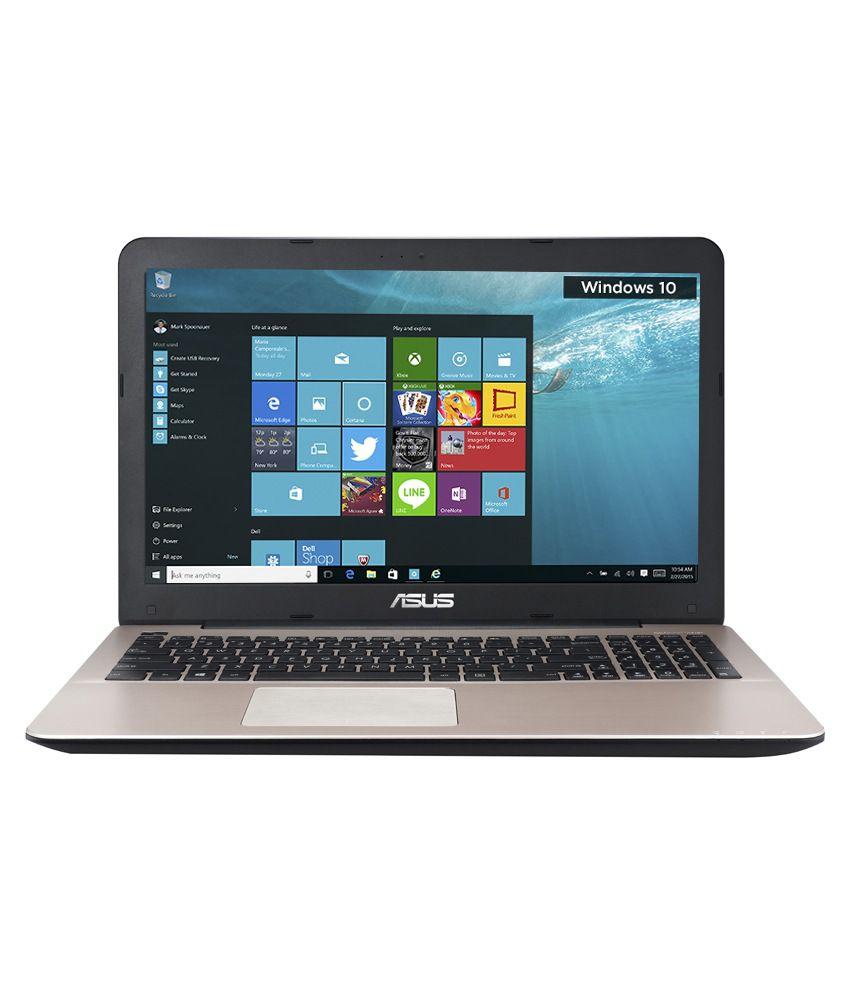 Asus A555LF-XX150T Notebook (90NB08H1-M02940) (4th Gen Intel Core i3- 4GB RAM- 1TB HDD- 39.62 cm (15.6)- Windows 10- 2GB Graphics) (Dark Brown)