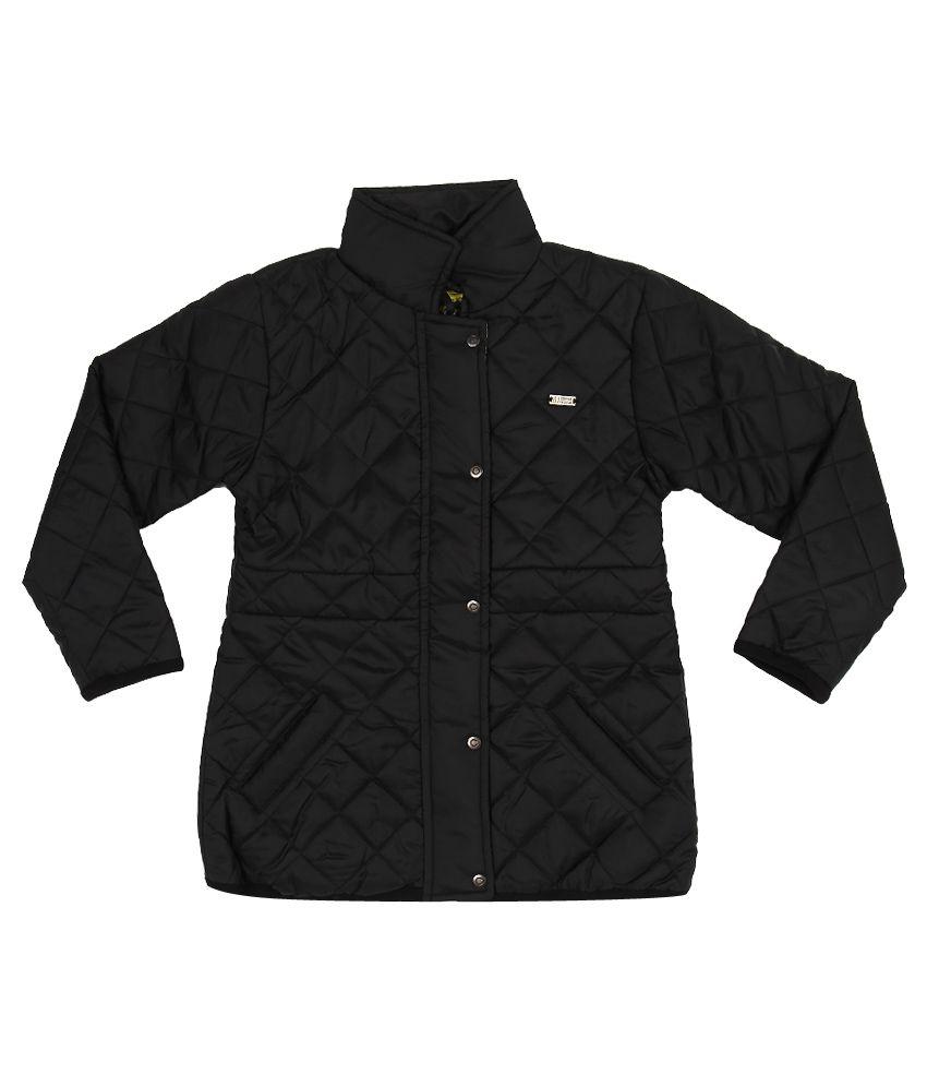 Gini & Jony Black High Neck Jacket