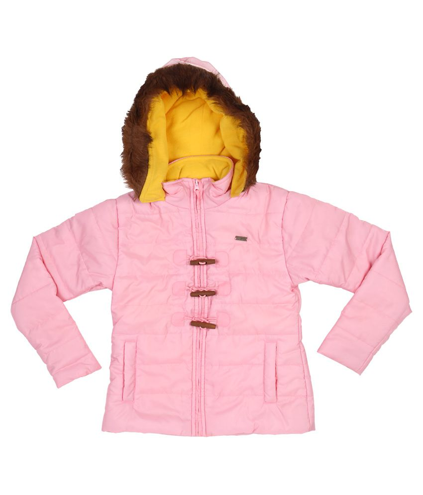 Gini & Jony Pink Hooded Jacket