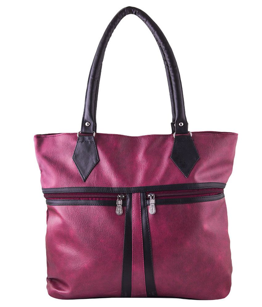 Pink Fever Shoulder Bag-Maroon
