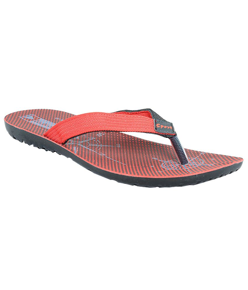 fc349a68d VKC Fashionable Red Slippers Price in India- Buy VKC Fashionable Red Slippers  Online at Snapdeal