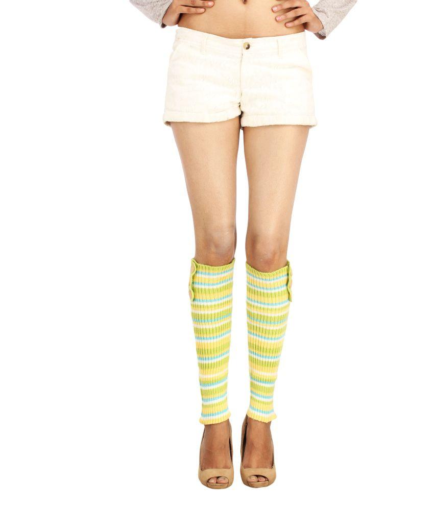ELLIS Good Looking Woollen Leg Warmer For Women