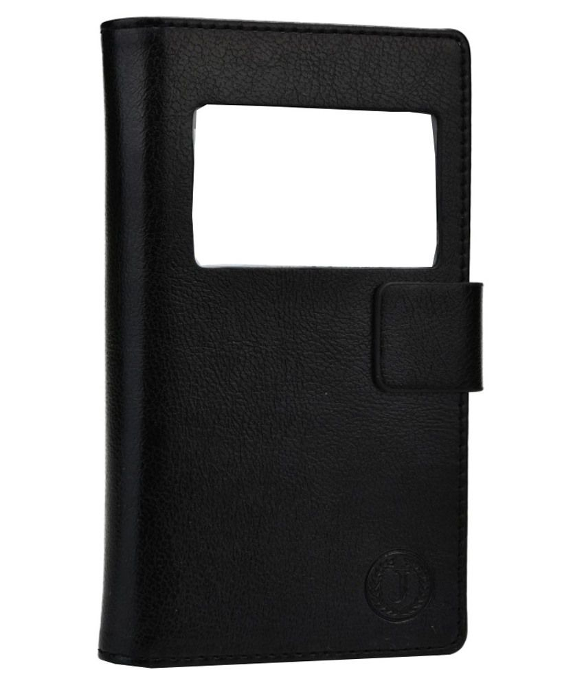 Jo Jo Flip Cover For Moto G (2ND GEN)-Black
