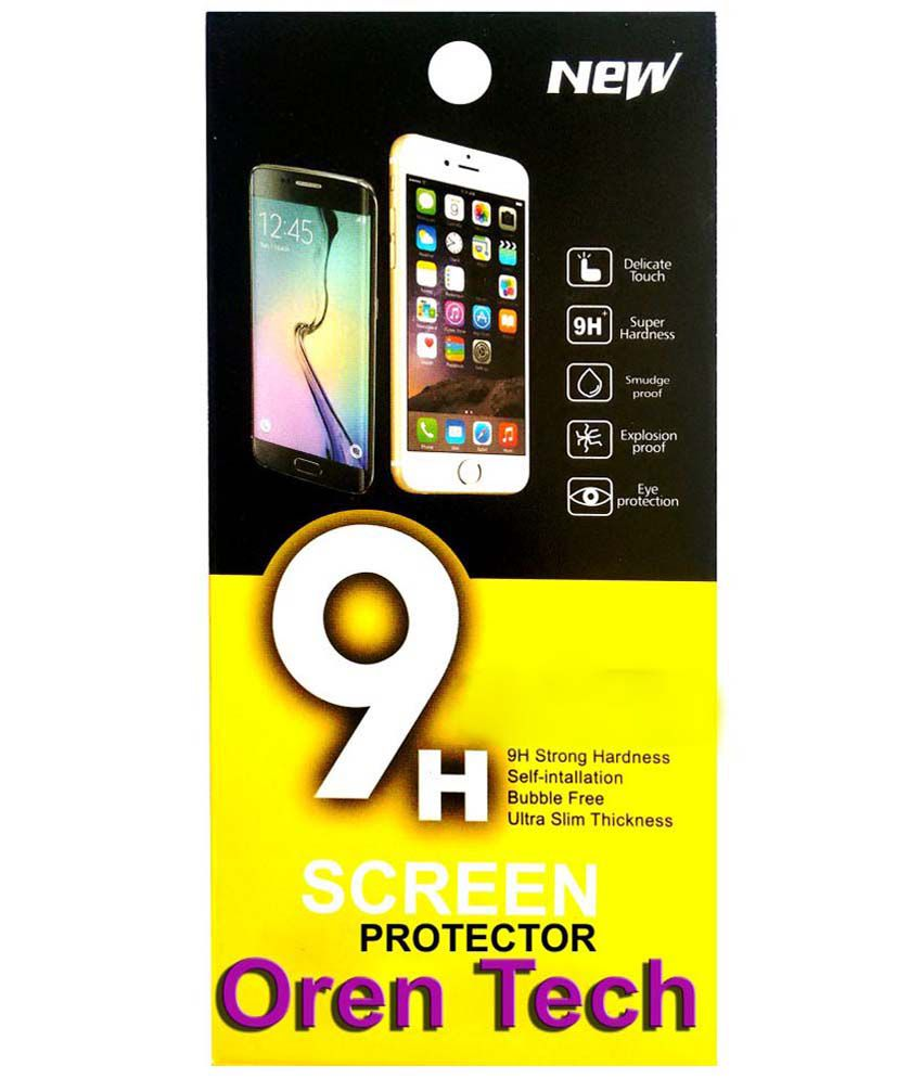 OrenTech WhiteLilly SG167 Screen Guard For Micromax Canvas Doodle 3 A102 with 1 GB RAM