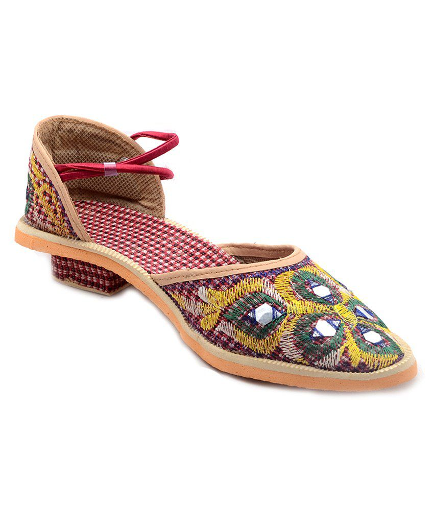 Rising Sun Multicolour Sandals
