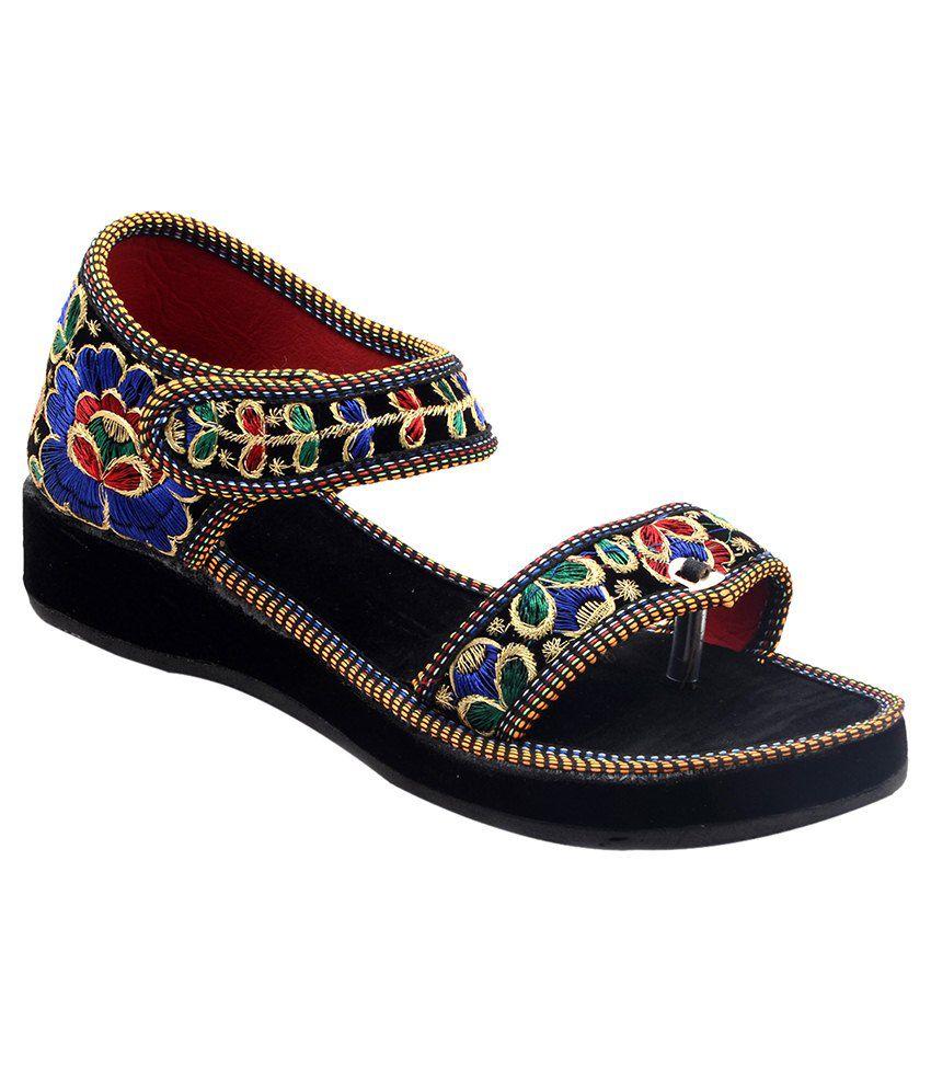 Rising Sun Multicolour Sandals