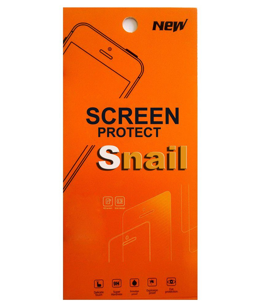 Snail Tempered Glass Screen Guard For Xiaomi Mi 4