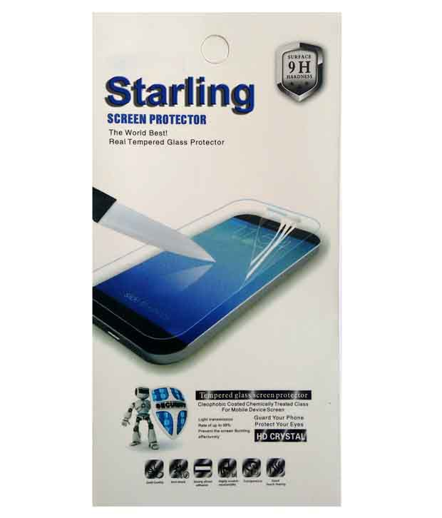 Starling Clear Screen Guard For Micromax Bolt A59