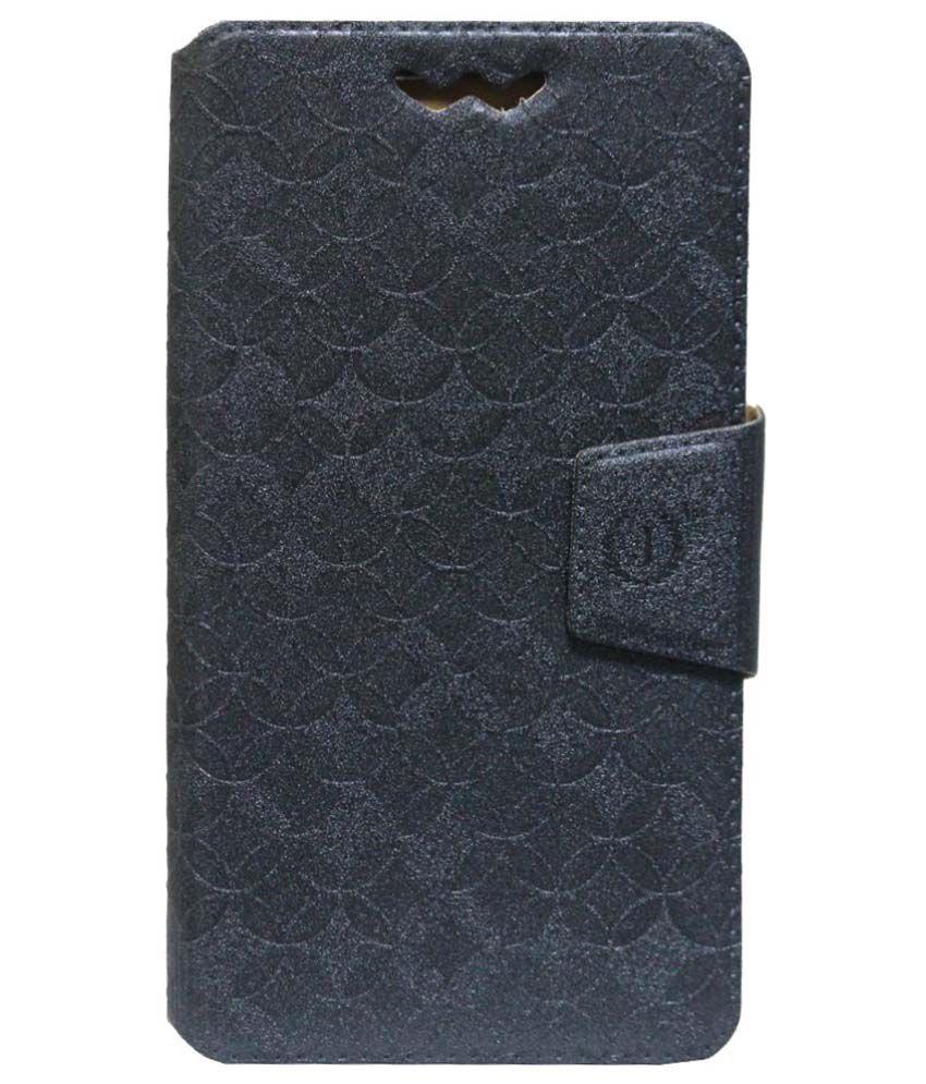 Jo Jo Synthetic Flip Cover For LG Optimus 4X HD P880 - Grey
