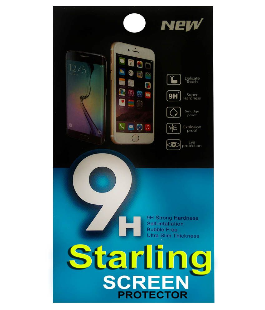 Starling Clear Screen Guard For Lava Iris 404
