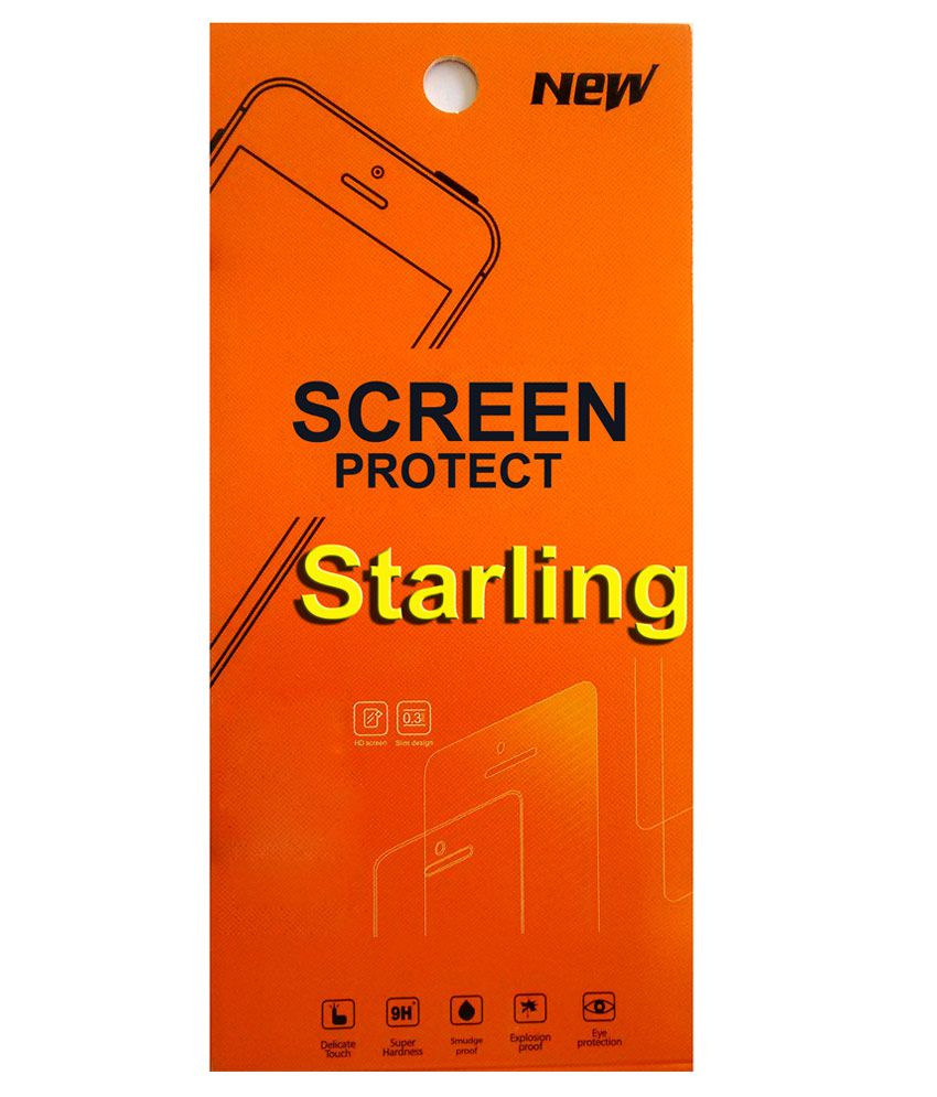 Starling Tempered Glass Screen Guard For HTC Desire 516
