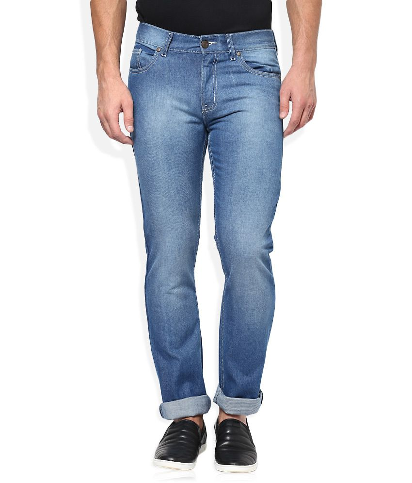 Newport Blue Slim Fit Jeans