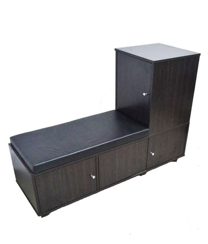 Eros Cushioned Seat with Shoe Rack