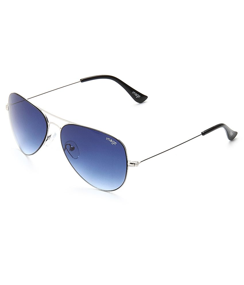 Image NIMS445C4 Blue Aviator Sunglasses