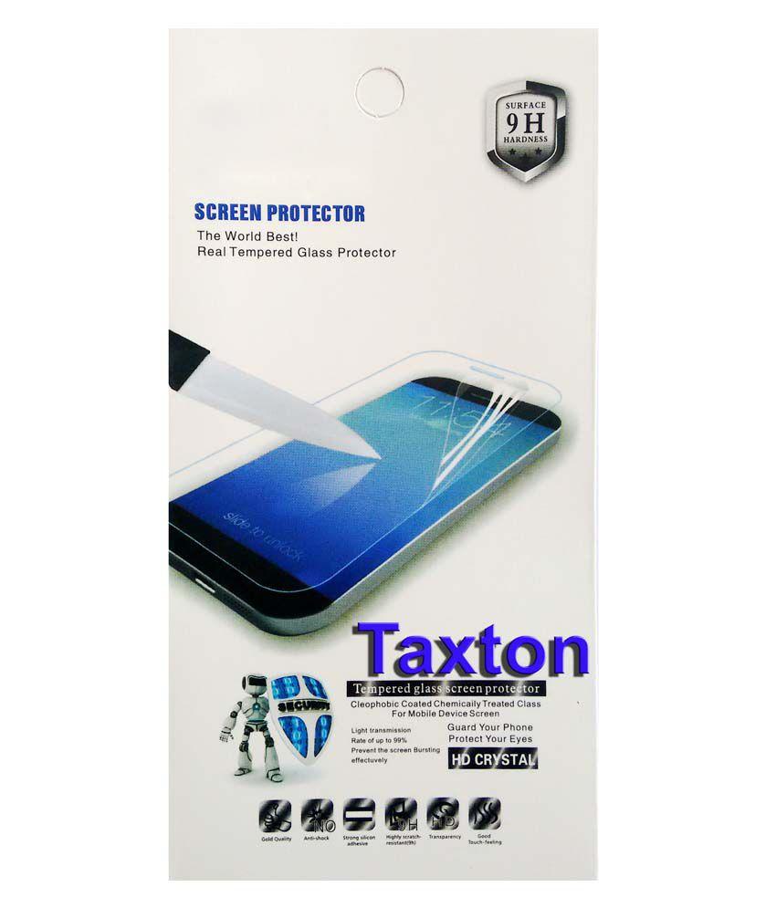Taxton Clear Screen Guard For Micromax CANVAS JUICE 2 AQ 5001