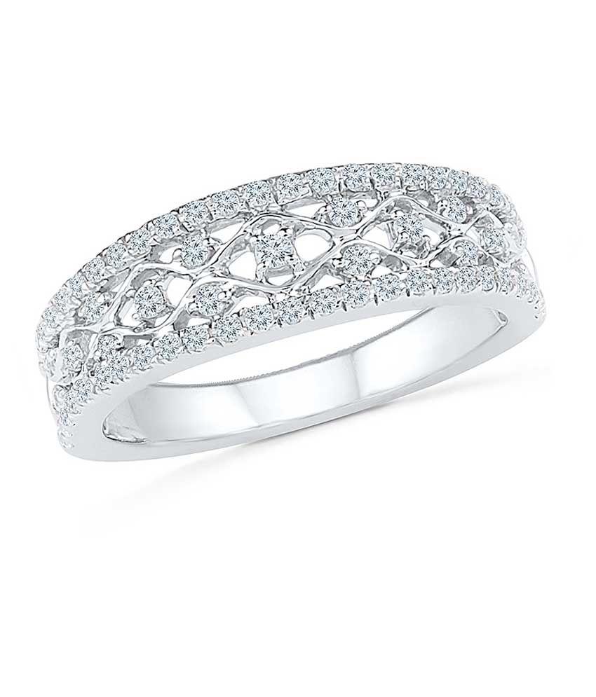 Radiant Bay 14kt Gold EGL Certified Diamond Ring