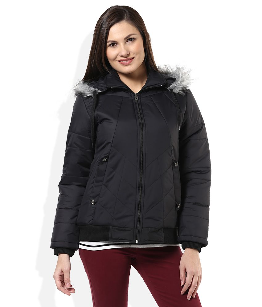 Buy Fort Collins Black Casual Jacket Online At Best Prices In India - Snapdeal