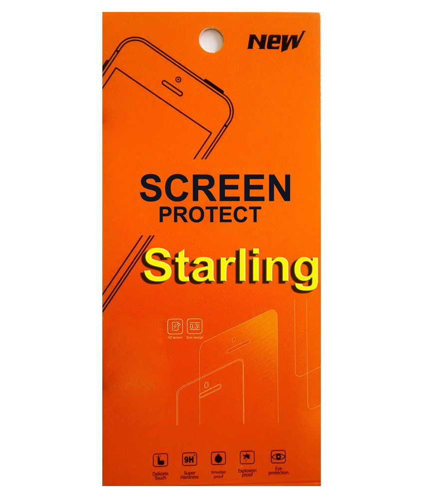 Starling Clear Screen Guard For Intex Aqua T2