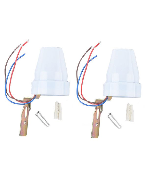 Ozone-Systems-Photocell-Sensor-Dusk-Dawn-Switch-Oz-25-(pack-Of-2)