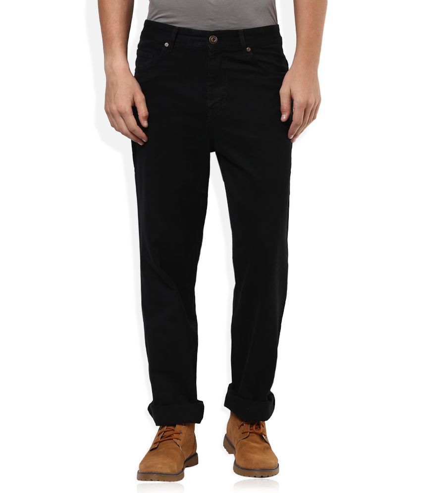 Sin Black Raw Denim Regular Fit Jeans