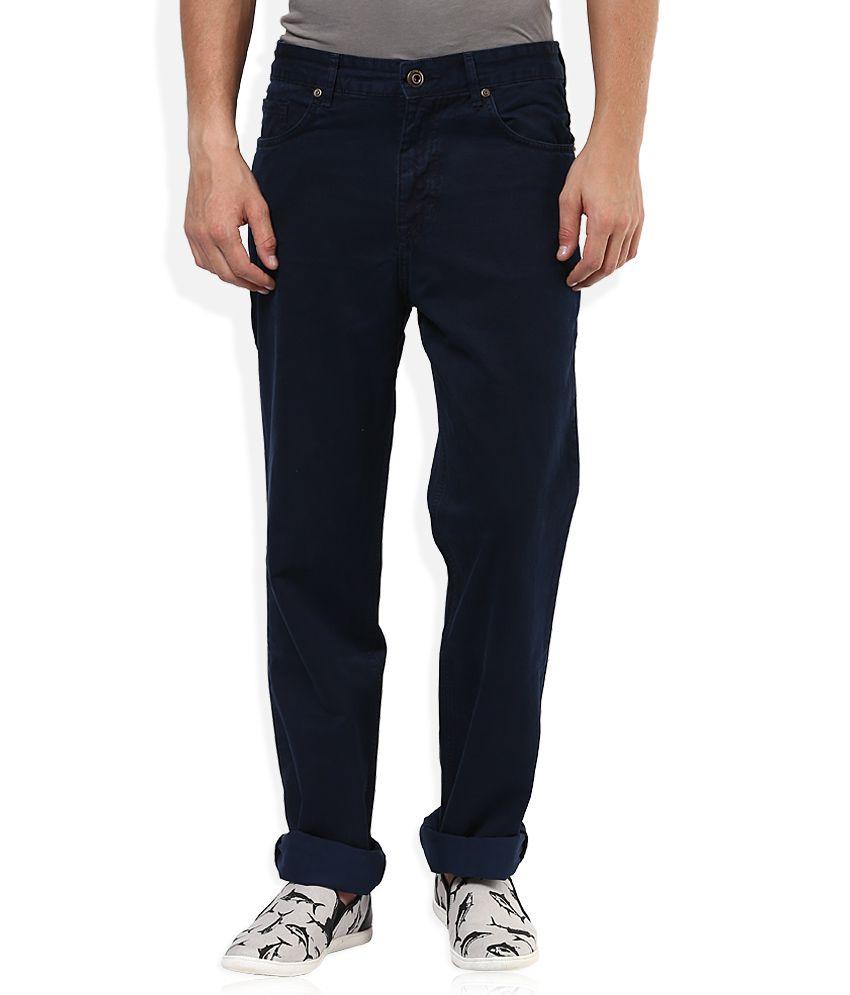 Sin Navy Raw Denim Regular Fit Jeans