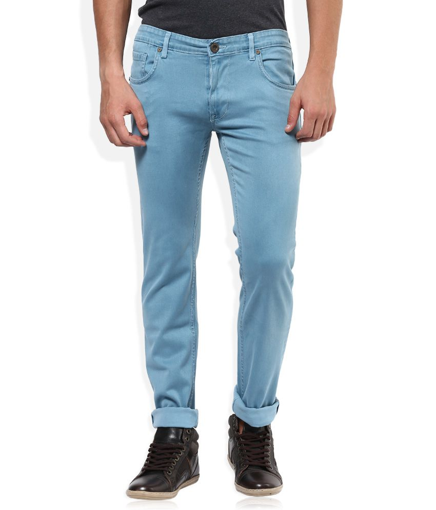 Sin Blue Raw Denim Slim Fit Jeans