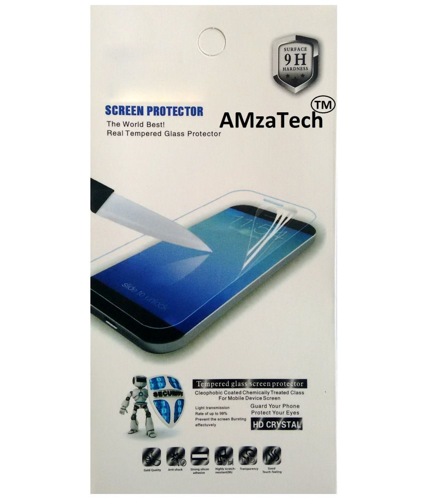 Amza Tech Tempered Glass Screen Protector For Gionee Pioneer P4
