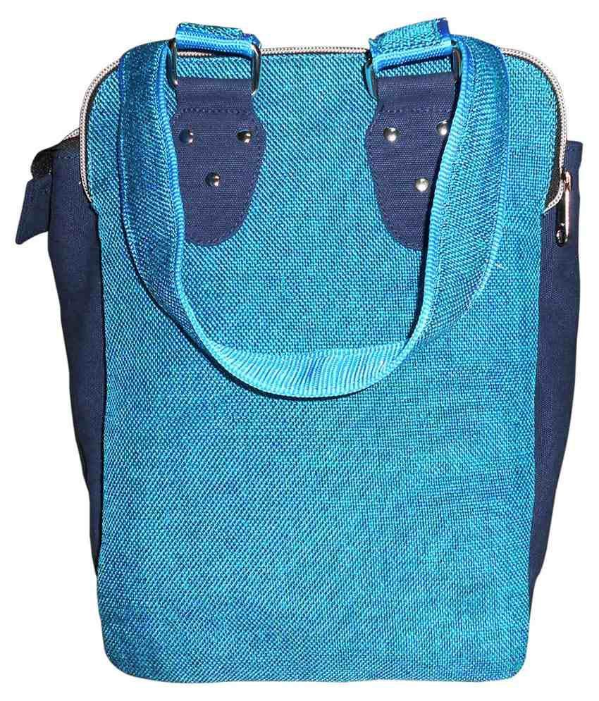 Stylogy Canvas Cloth Sling Bag-blue