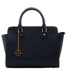 Diana Korr Blue Pu Handbag