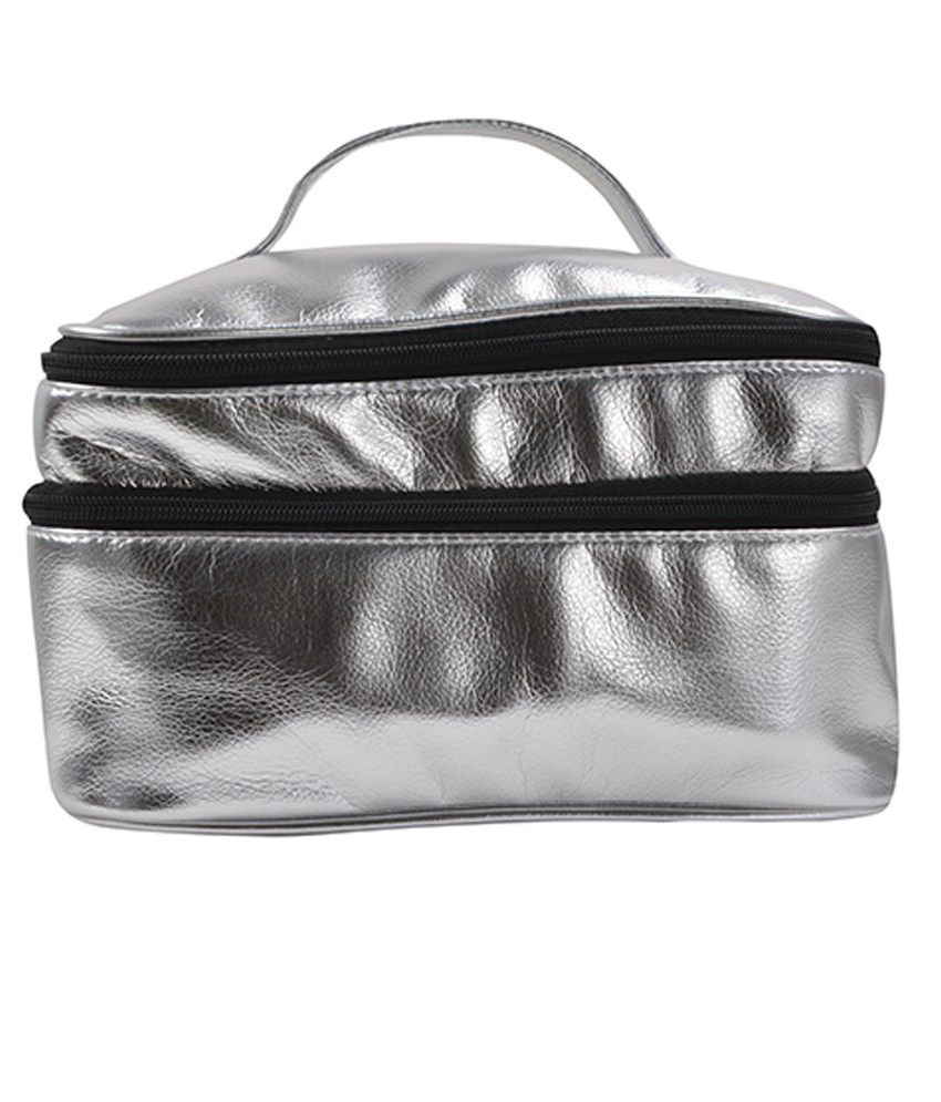 Carry On Bags Silver Metallic Utility Kit