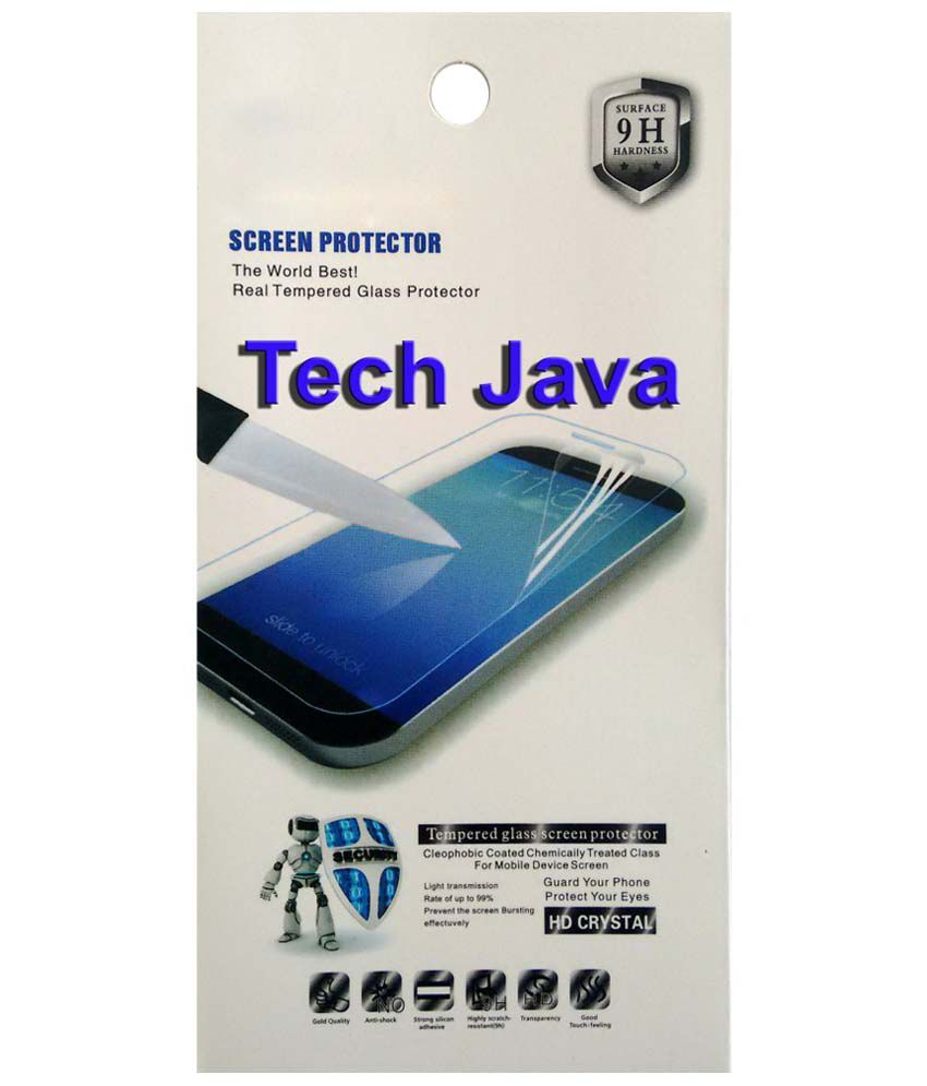 TechJava Clear Screen Guard For Gionee pioneer P2