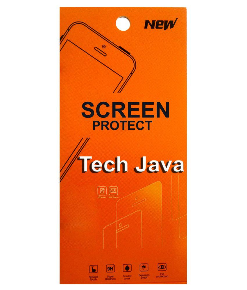 TechJava Clear Screen Guard for Samsung Galaxy S Advance i9070