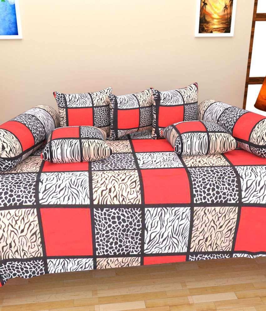 Little Joy Multicolour Cotton Diwan Set