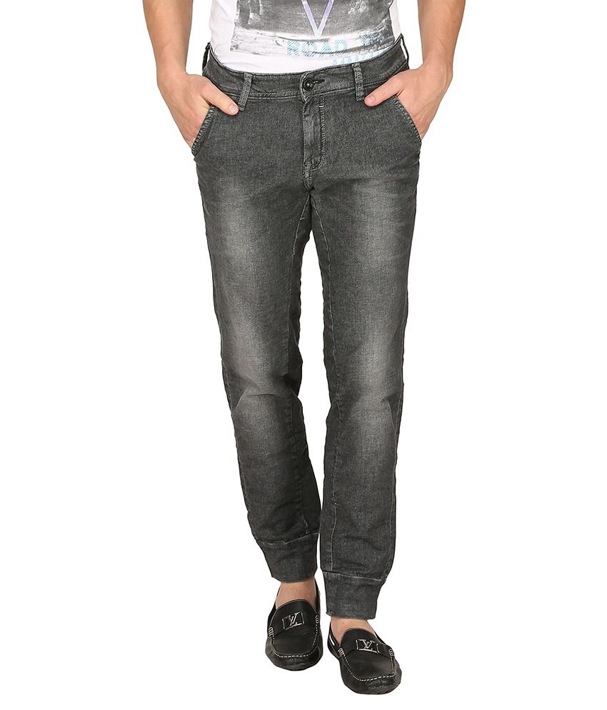 Mufti Grey Slim Fit Jeans